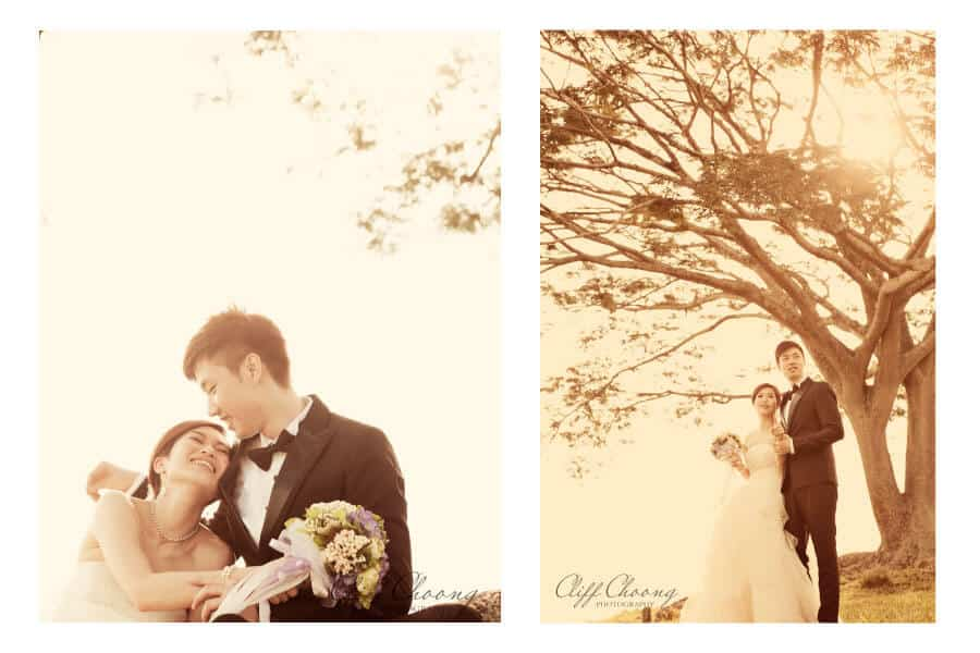 Angel + Anson - A pre-wedding with Dennis Yap Photography