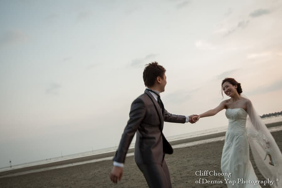Pre-Wedding Engangement Sepang Beach Love Life Beloved Cliff Choong Photography Leon & Brigette
