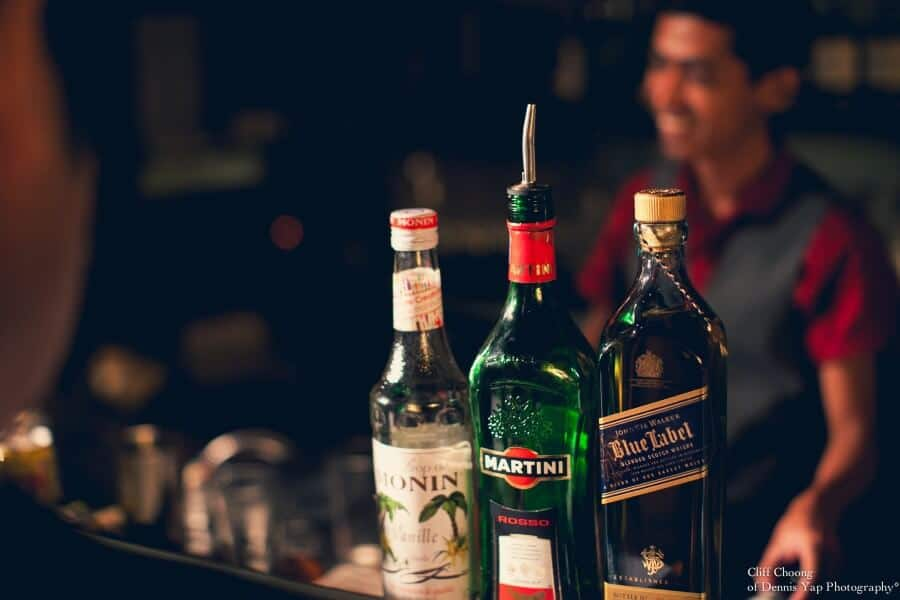 Diageo World Class Malaysia First Challenge Martini Blue Label