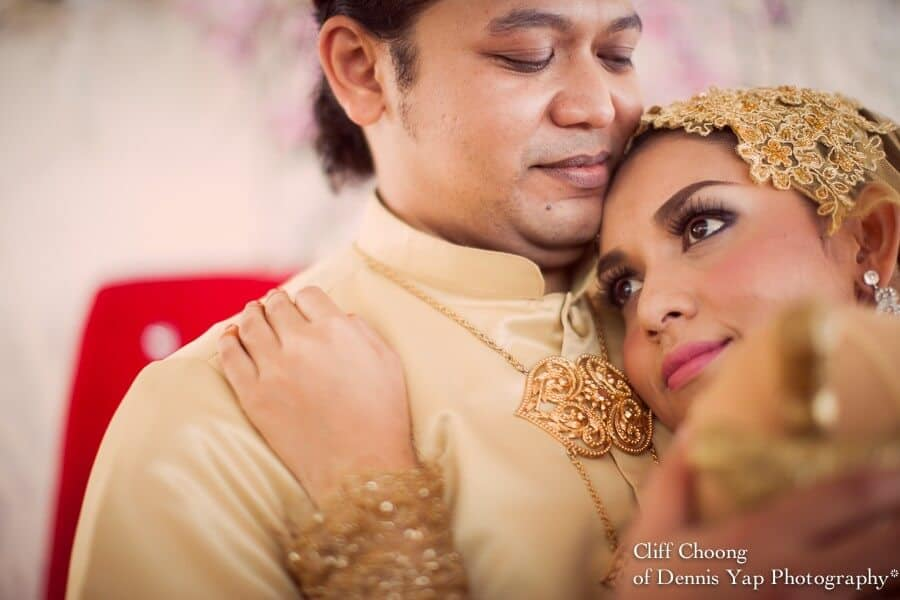 Totally Red, Bahai Wedding Ceremony - Hairil & Diana