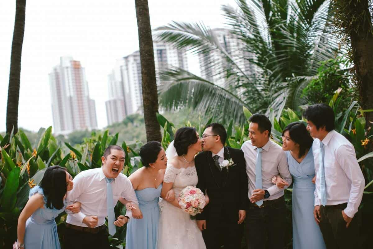 Malaysia Classic Vintage Chinese Wedding Kuala Lumpur Cliff Choong Photography Cross-culture Indonadian Malaysian Yat Ming & Mega bride groom bridal party