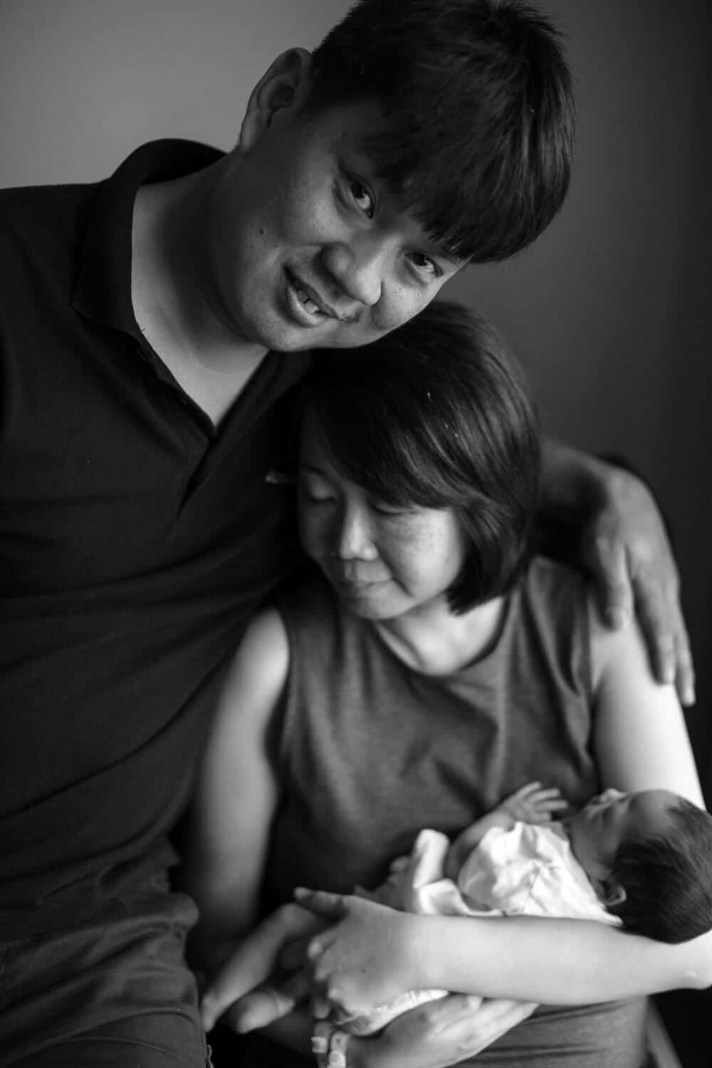 Kuala Lumpur New born baby portrait love mother Photographer Cliff Choong Photography Malaysia