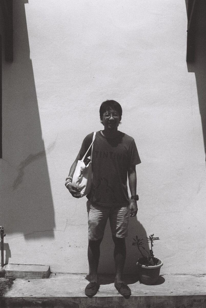 film walk photography photowalk melaka Malaysia Ilford FP4 black and white negative cliff choong