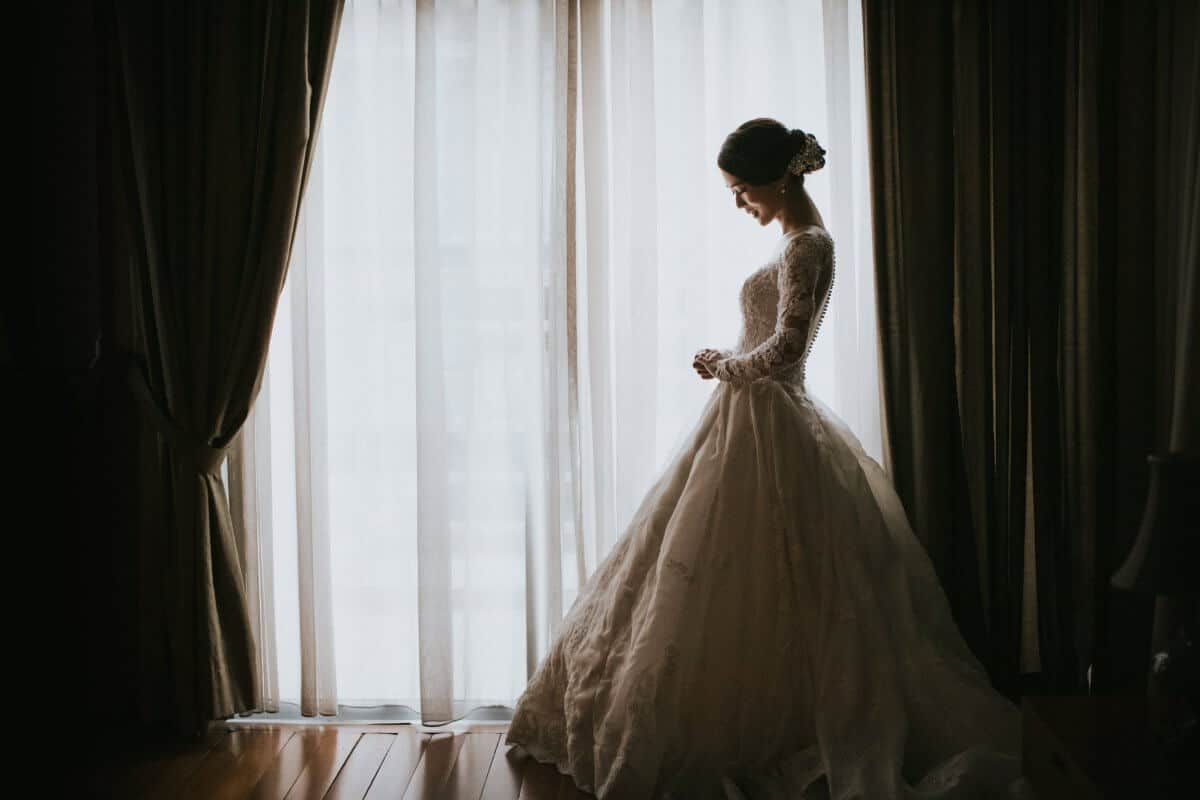 Malaysia Wedding St. Andrew Church Kuala Lumpur Malaysia Destination Cliff Choong Photography bride getting ready makeup lips red white fairy tail beautiful wedding gown dress Classic Simple But Elegant Gorgeous Bride