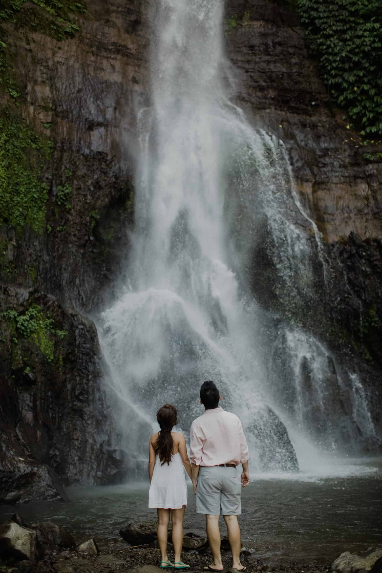 cliff choong destination portrait and wedding photographer malaysia kuala lumpur bali adventure sea waterfall prewedding shots bride and groom boat on the water