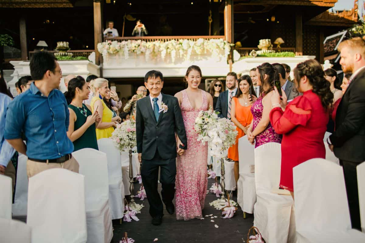 Destination Wedding Chiang Mai Thailand Dhara Dhevi Chiang Mai Resort