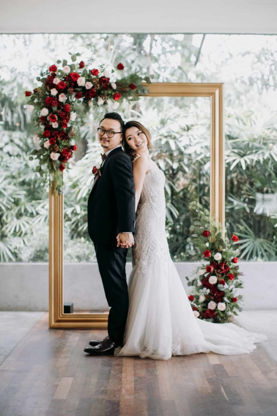 cliff choong destination portrait and wedding photographer malaysia kuala lumpur prewedding sunset golden sunrise shots bride and groom HOLDING HANDS rotterdam netherlands wedding getaway elopement bouquet flowers forrest couple moment Actual Day at Enderong Resort Genting Highlands Garden Ceremony Ciao Italian Ristorante Rustic Wedding