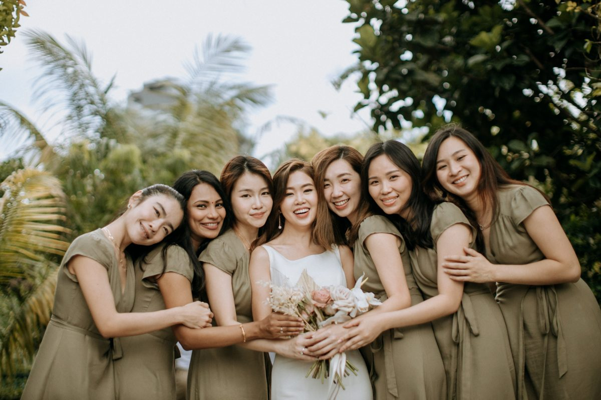 white olive green Rustic Wedding Sekeping Jugra cliff choong destination portrait and wedding photographer malaysia kuala lumpur bride and groom desert couple kiss romantic intimate moment scene bridesmaids beautiful gate crashing emotional moments