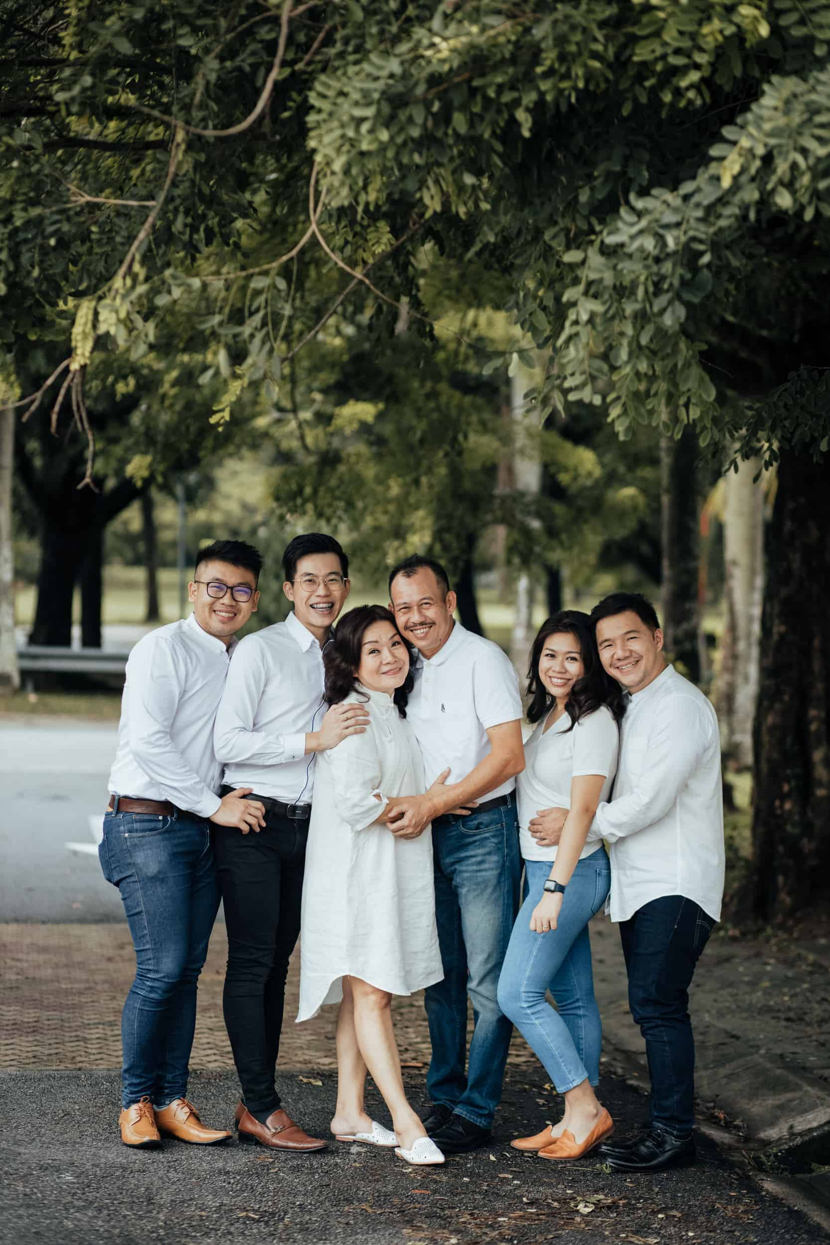 Kuala Lumpur Outdoor Family Portrait Casual Leisure Happy Sesson