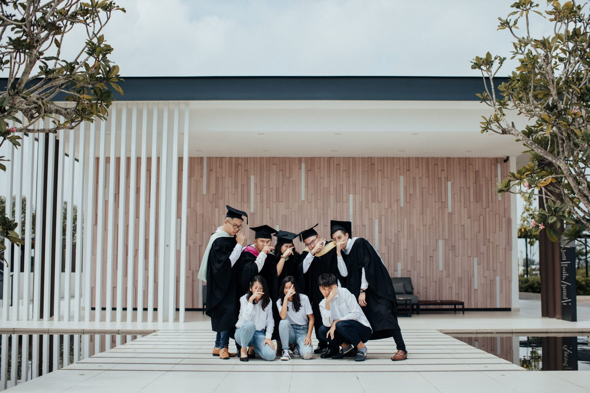 Casual Leisure Happy Family and post-graduation Portrait Sesson