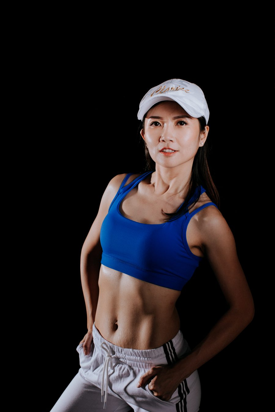 Fitness Portrait Photo Fitmom Woman Lady Studio Session Cliff Choong Photography Nike women