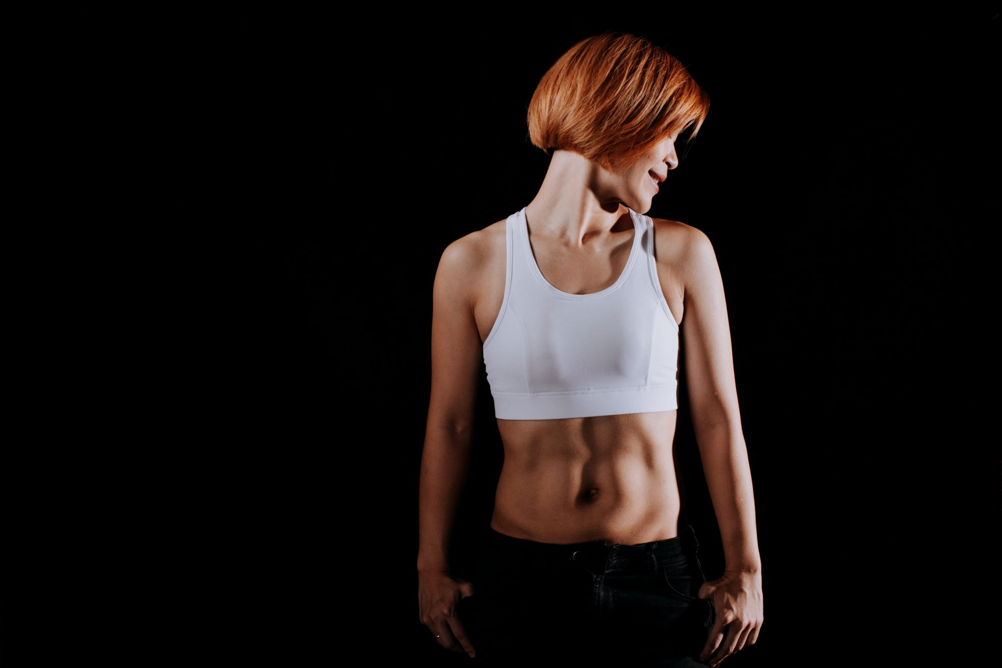 Fitness Portrait Photo Fitmom Woman Lady Studio Session Cliff Choong Photography