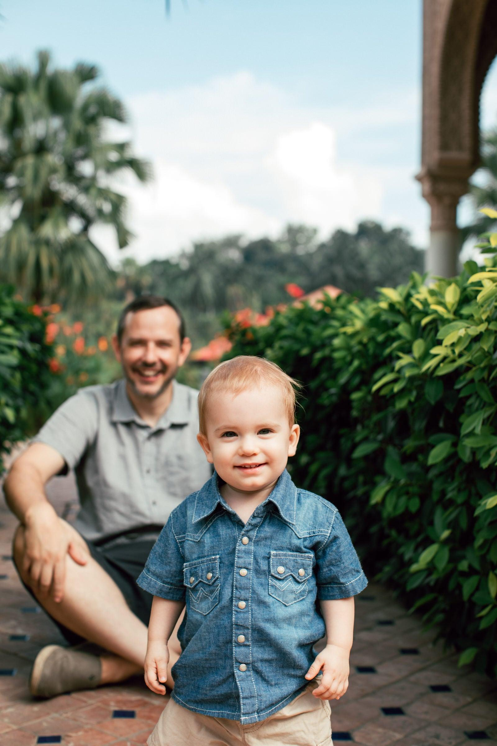 Father and son Putrajaya Family Portrait Session in Kuala Lumpur Malaysia