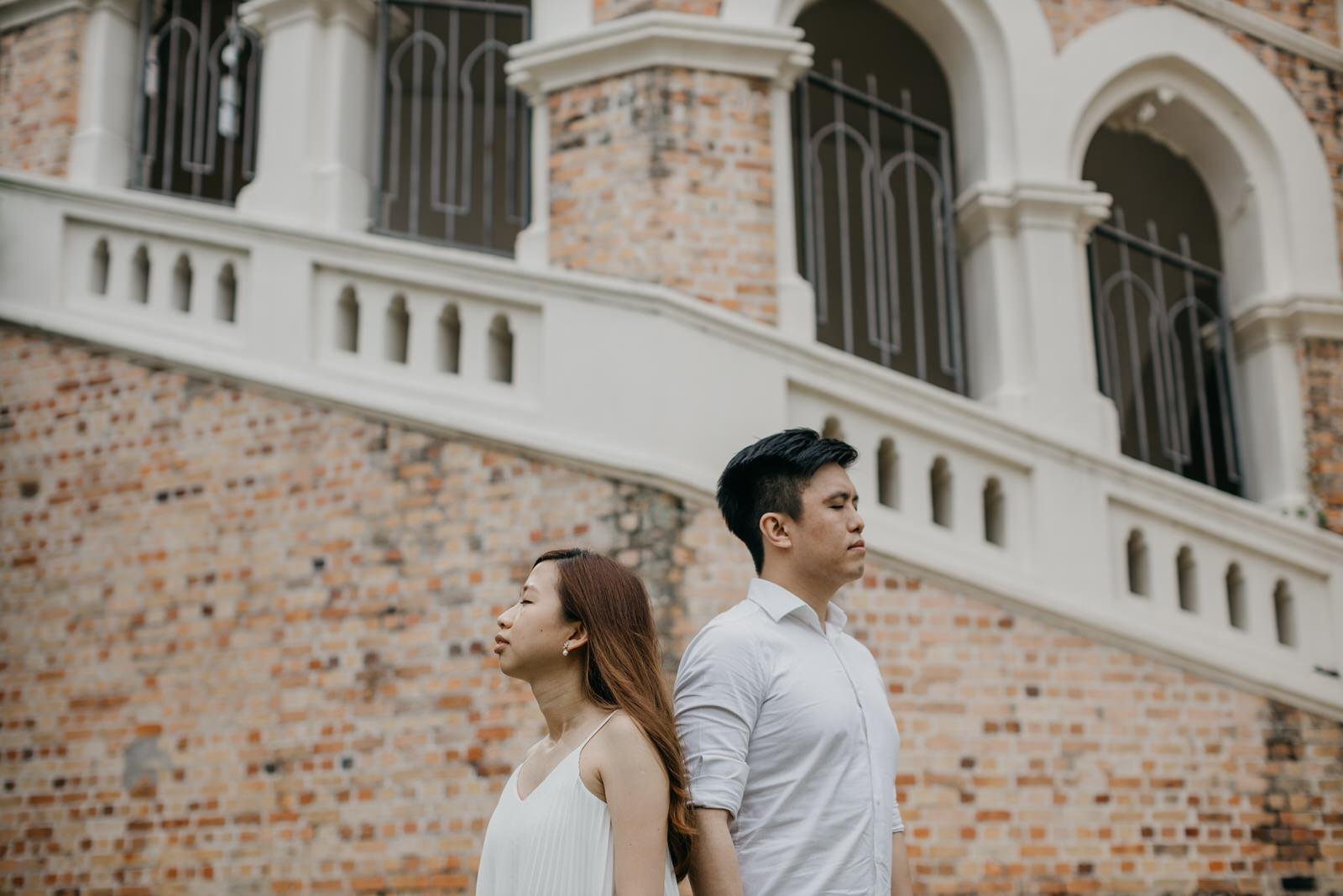 Couple portrait session in the heart of Kuala Lumpur