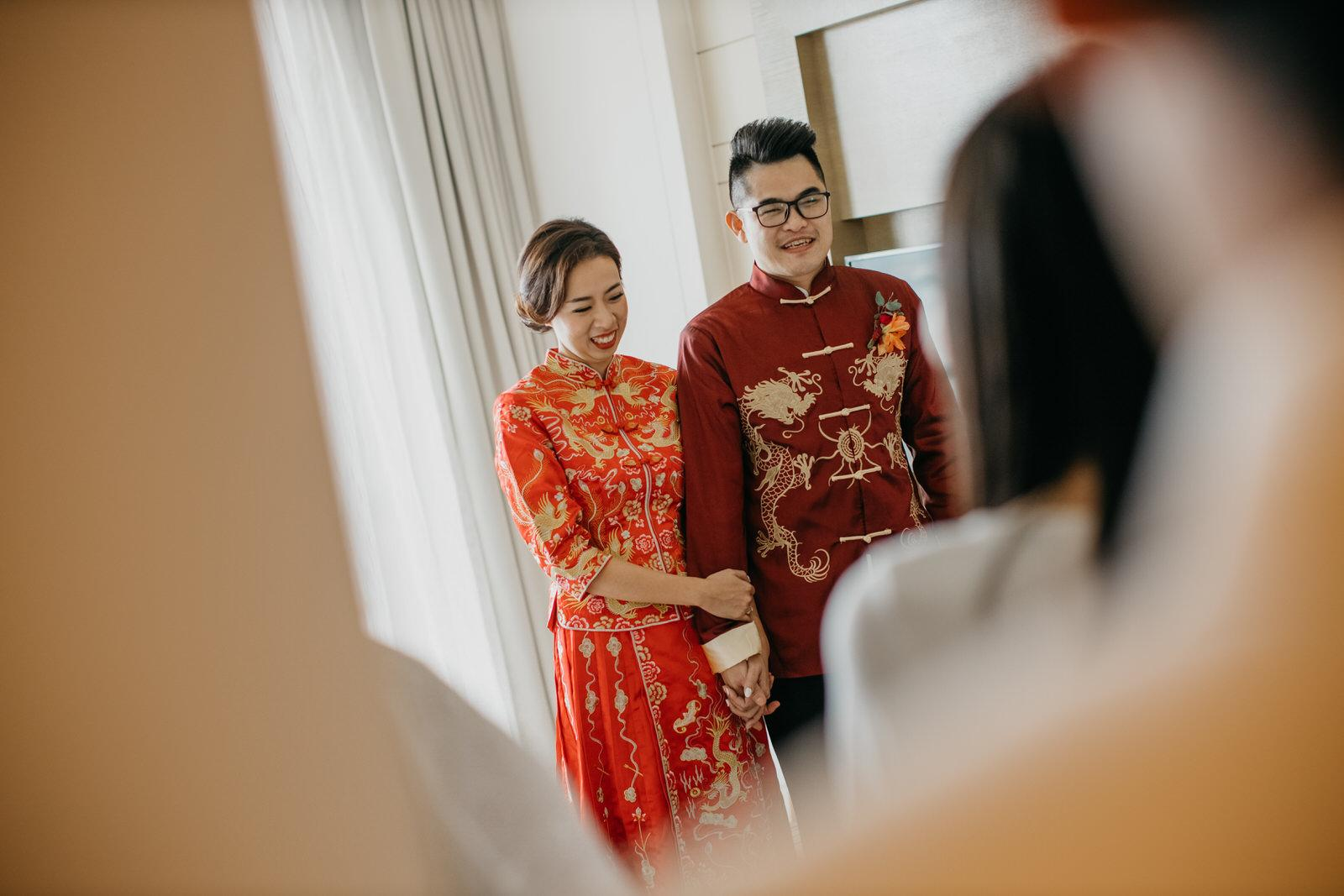 Chinese Traditional Wedding Tea Ceremony in Kuala Lumpur