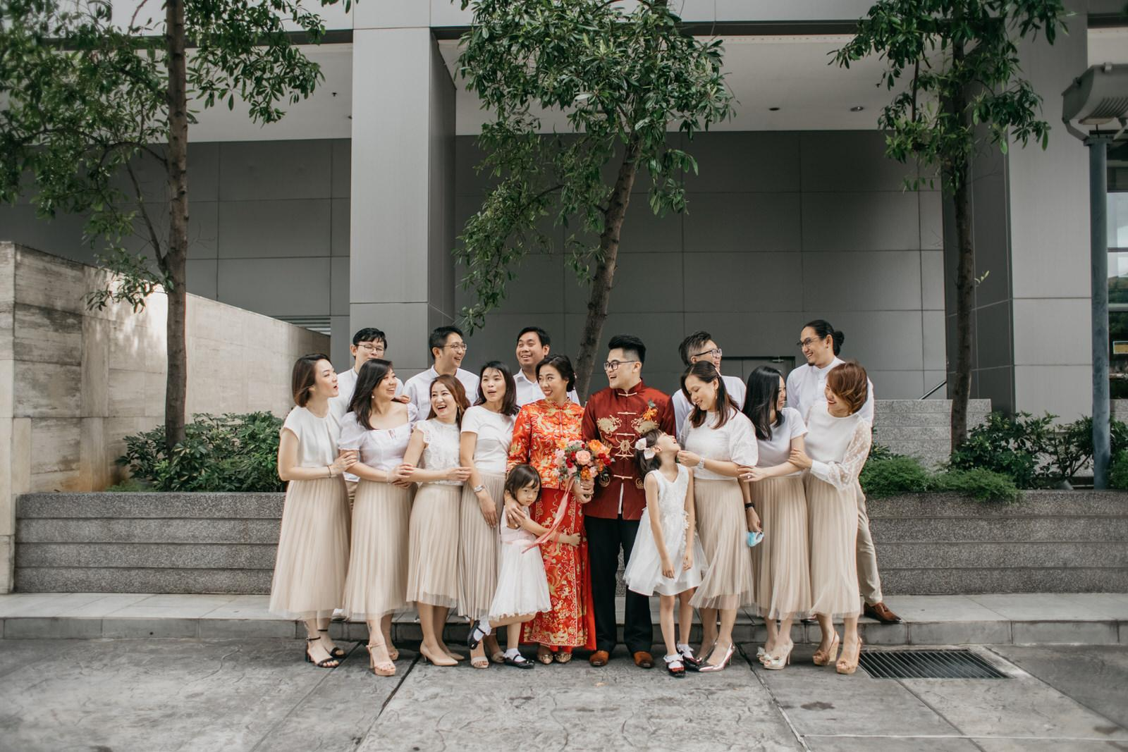 Chinese Traditional Wedding Bridal Party in Kuala Lumpur Cliff Choong Photography