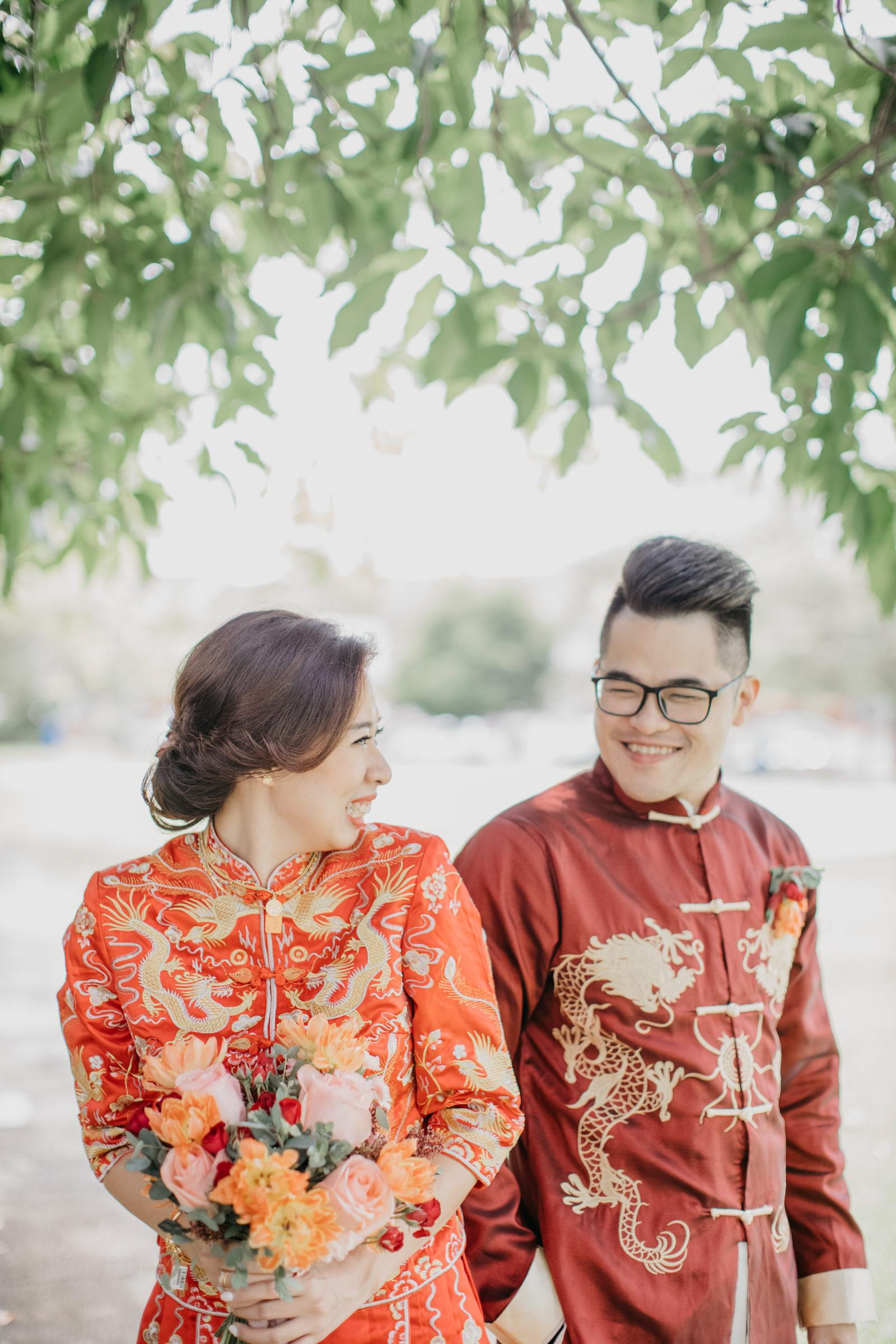 Chinese Traditional Wedding newlywed in Kwa in Kuala Lumpur Cliff Choong Photography