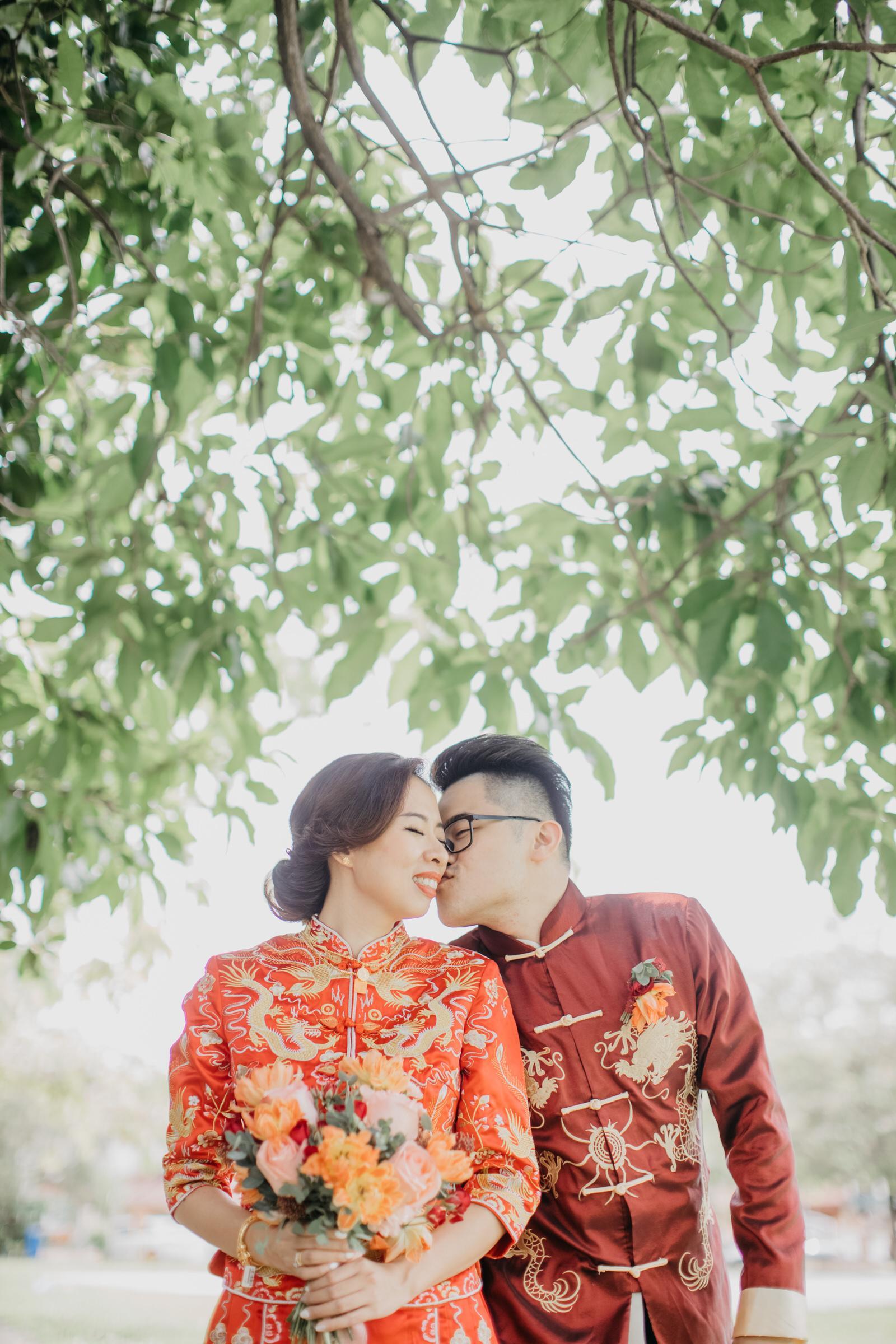 Chinese Traditional Wedding newlywed in Kwa in Kuala Lumpur Cliff Choong Photography