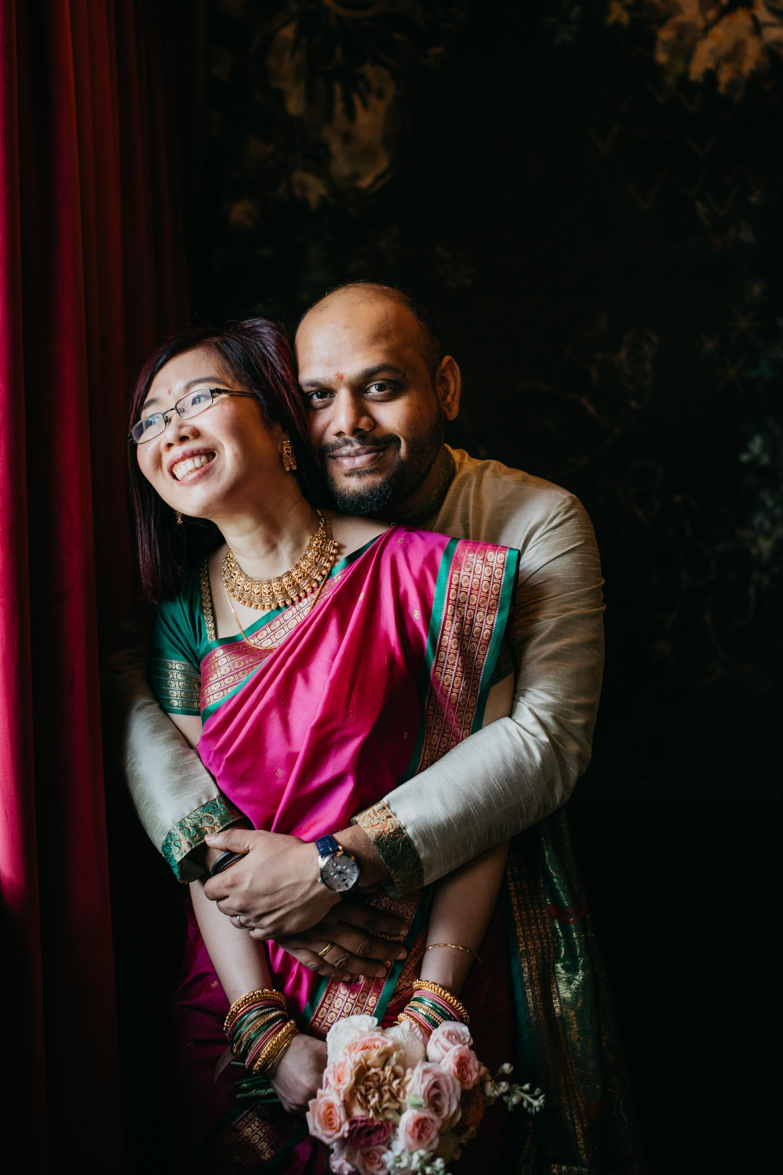 Couple Photo Post-wedding An intimate cross-cultural indian chinese wedding at The Chow Kit Hotel in Kuala Lumpur Malaysia Wedding and Portrait Photographer Cliff Choong Photography