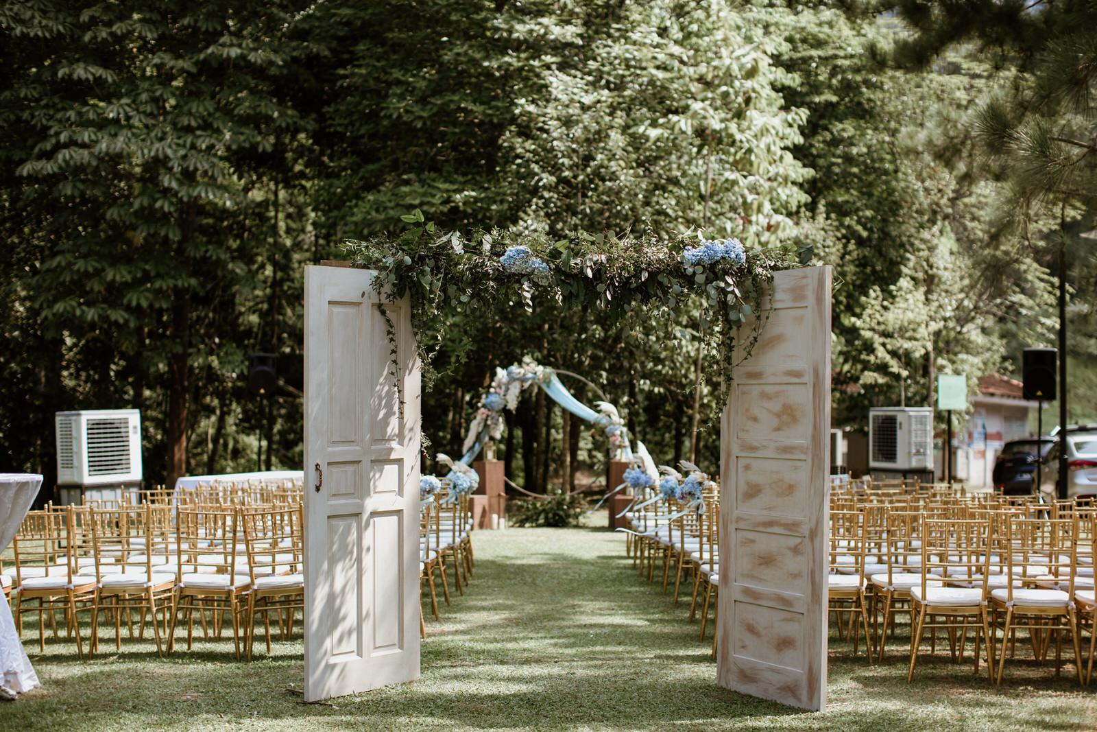 Tanarimba Rustic Garden Weding Janda baik Decoration Wooden Open Door Cliff Choong Photography