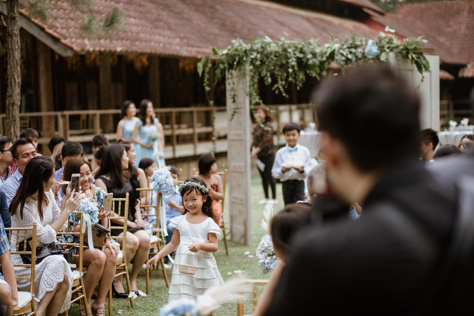 groom and parents march in Tanarimba Rustic Garden Weding Janda baik Decoration Photobooth Cliff Choong Photography