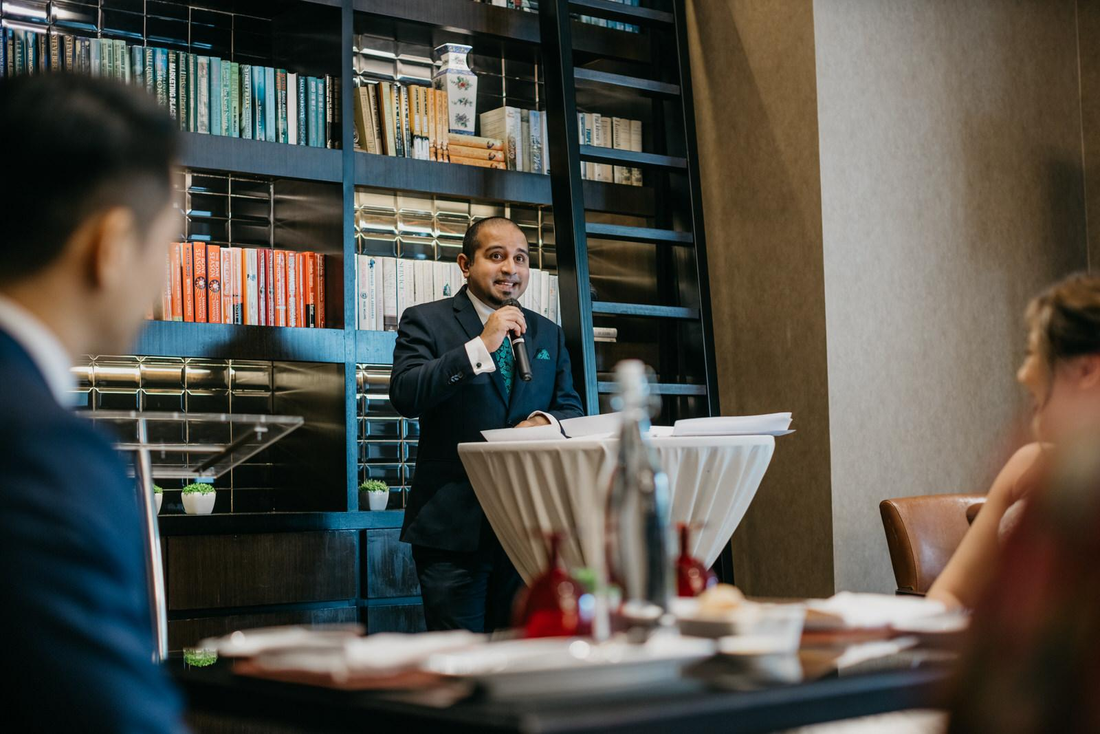 Brasserie 25 French Cuisine Wedding reception at Hotel Stripes Kuala Lumpur MCO2.0 SOP Cliff Choong Photography Malaysia Covid19 ROM